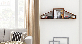 The Hangar :: Bookshelf  Wall Mounted Combo :: Comtempo