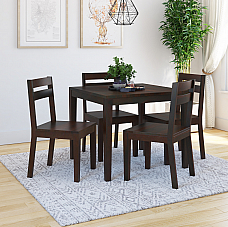 Arto Solid wood 4 seater dining set