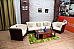 Bucket Comfort Sofa Set :: 3+1+1 with Centre Table