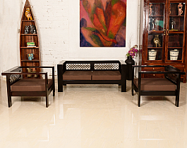 Made of Mettle :: Sofa Set :: 2 +1+ 1 :: Roots Rerun * Ready To Ship