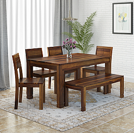 Gangely Six seater Dining Set
