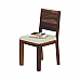 Antilia Glass Top Solid wood 6 seater Dining set
