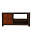 Solid Sheesham Wood Modern Entertainment Unit