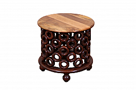 Wooden Disco Balls Centre Table :: Low :: Retro
