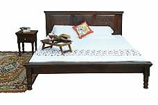 INDIGO QUEEN SIZE BED GIVE DESIGNER TO YOUR ROOM