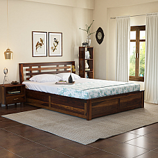 Easter ebco king size Hydraulic storage wooden bed
