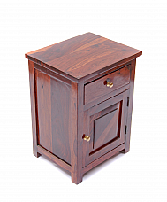 Diamond panel Bedside cabinet Flavour of wooden furniture