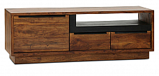 Rivario TV cabinet in retro Style n Functional unit of furniture