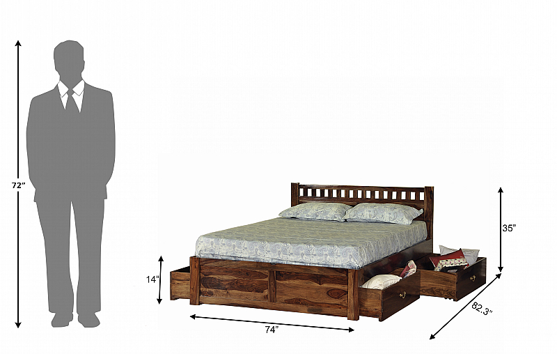 Beds Double Inbd3k King Size