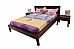 Marriott Modern Bedroom set of 3pcs Bed+Bedside