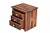 Antilia Diamond Bedside with 3 Drawers