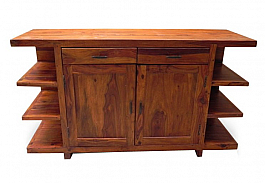 Modern TV unit Console :: A complete entertainment cabinet
