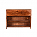 Ginger Shoe Rack Side Table with Drawer :: Contempo