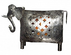 Elephant Candle Stand  set of 2 pcs
