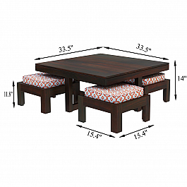 Center table with chair