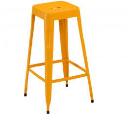 Dublin iron Metal Stool set of 2pcs
