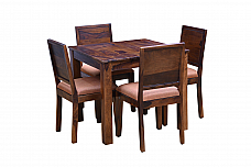 Arabia Upholstered 4 Seater Dining Set