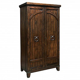 SOLID WOOD BAR CABINET