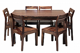 To the Two Tones :: Low Backed Chairs Dining Set