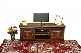 Indigo desgin T.V unit in Solid Sheesham Wood.