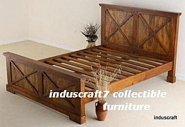 Shaker Style Exclusive Wooden Bed