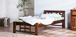 Mani Single Bed perfect art piece in simple form of Furniture