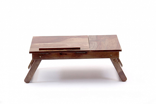 Laptop table in solid sheesham wood * Ready to ship