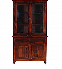 Crockery cabinet sheesham wood ethnic furniture