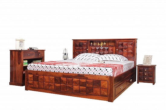 Diamond Traditions :: Indo Fusion Queen Bed