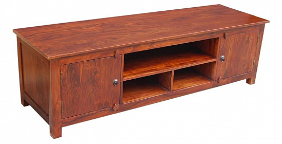 Honey Plasma TV Entertainment Cabinet