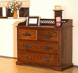 Jali Design Chest of drawer Ethnic storage idea