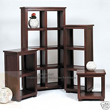 Wooden Bookcase Set of Four