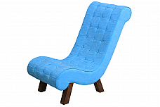 Oceans Comfy Blue :: Resting Chair solid wood structure