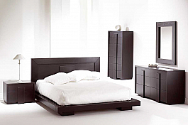 Sheesham Wood Modern Bedroom Set