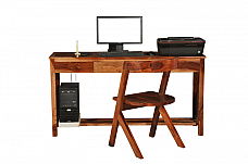 Sheesham wood Study Table with Chair