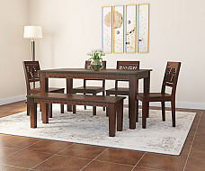 Mickyle Solid wood dining set