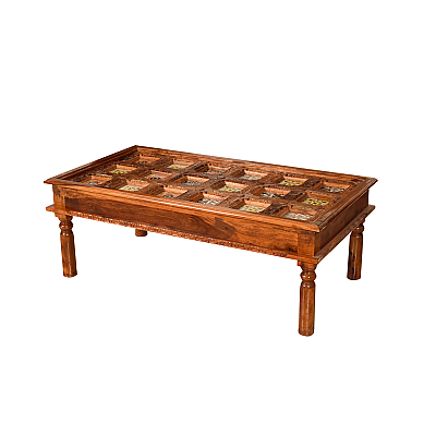 Indian Mosaic :: Tiled Coffee Table :: Roots Rewind