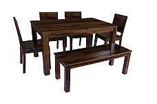 Arabia Solid Wood Six seater Dining Set