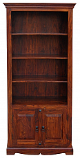 Long Wooden Bookcase [ INBK12 ]