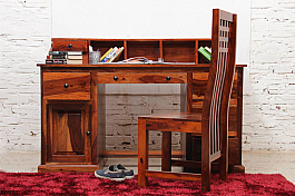 Brown Toast :: Writing Desk in Sheesham