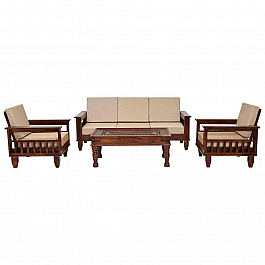 TRITON MODERN SOFA SET 5 SEATER MATCHING CENTER TABLE FREE !