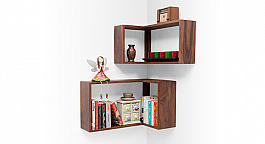 Contempo Bookshelf - Wall Mounted