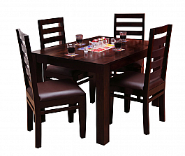 Grace Spacesaver Dining Set :: 4 Seater