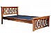 Romanian Bunk bed Ethnic style sheesham wood bed * Ready to ship
