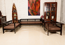Made of Mettle :: Sofa Set :: 3+ 2+1+1 :: Roots Rerun