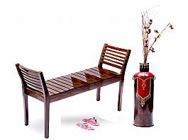 Roman Welcome :: Sheesham Double Seater Bench