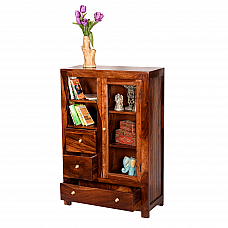 Sabkuch Cabinet multi utility Classic Cabinet in Sheesham wood