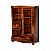 'Sabkuch' Cabinet multi utility Classic Cabinet in Sheesham wood