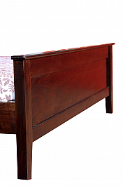 European Grand King Size Solid wood Bed