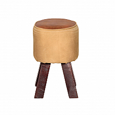 Letter from Paris Ottoman Stool :: Retro Rewind